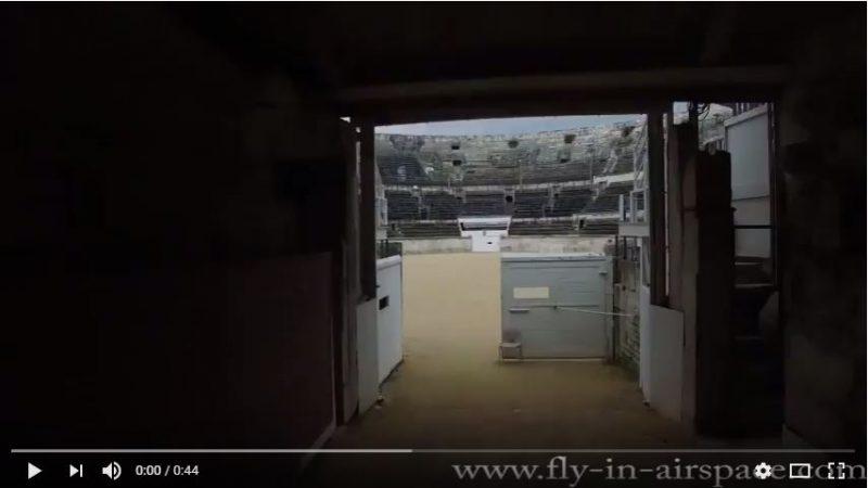 Tournage Arènes de Nîmes