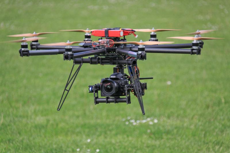 Drone-hexacoptère-Nîmes