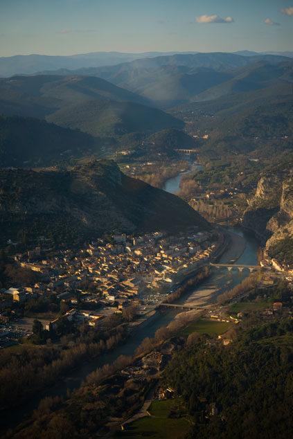 vue-aérienne-d'Anduze-et-du-Gardon